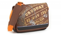 Soyntec® Messenger Bag TravellerTM 100 Moka up to 12.1""