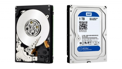 WD 1TB 3.5 Inch SATA Internal Hard Drive